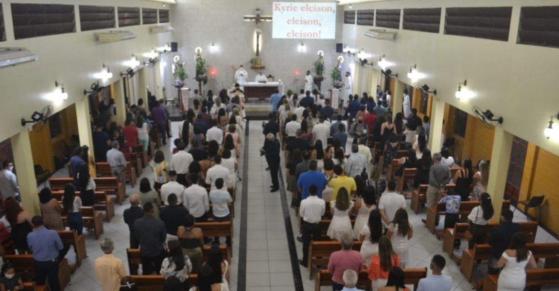 Formandos 2020-2 da Esamaz participam da Missa de Formatura