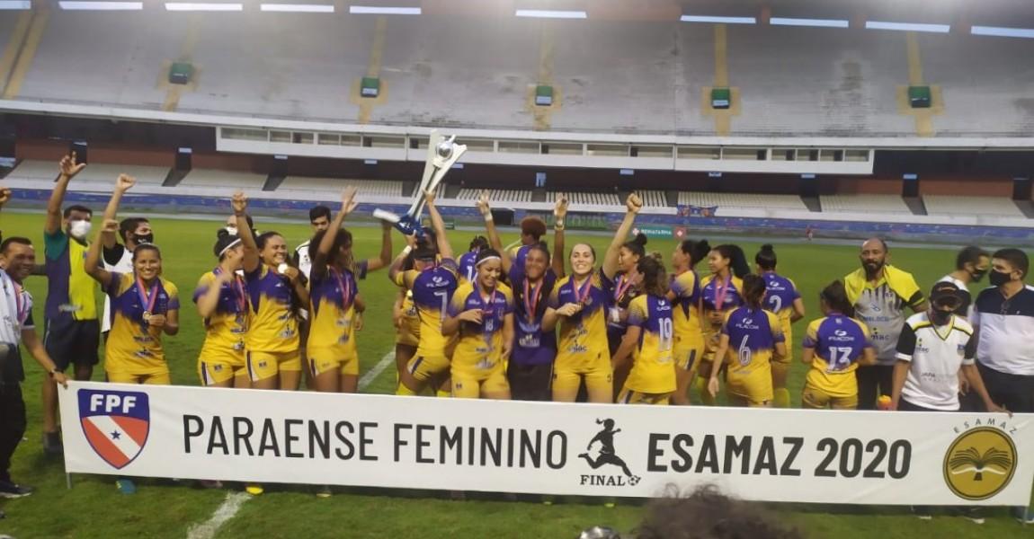Patrocinado pela Esamaz, o Campeonato Paraense de Futebol Feminino 2020 finaliza as competições com fortes emoções