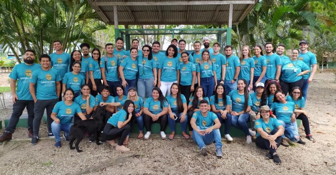 I Ação Social e Ambiental da Esamaz reúne alunos e professores em prol da saúde e do meio ambiente