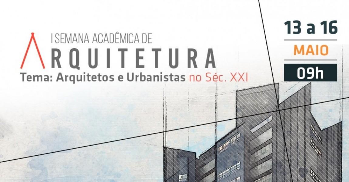 I Semana Acadêmica de Arquitetura da Esamaz acontece de 13 a 16 de maio, em Belém