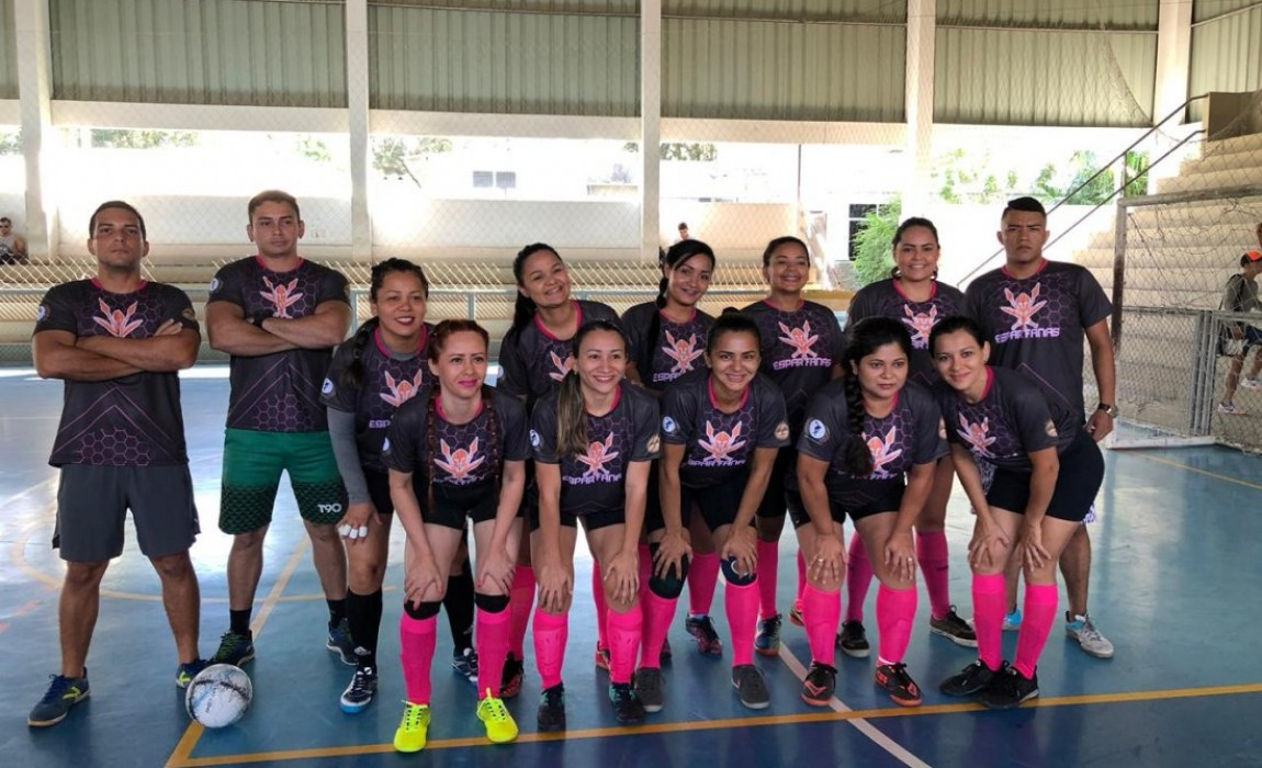III Copa de Futsal da Amizade reúne alunos, professores e colaboradores da Esamaz em Belém