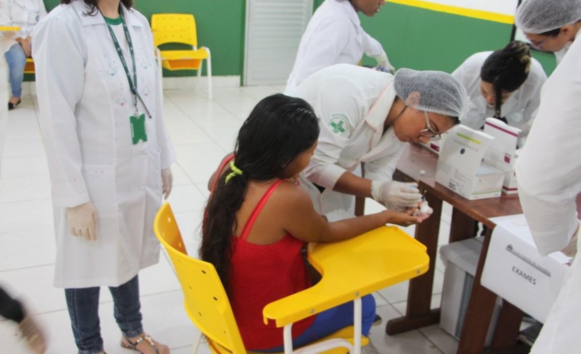 Indios Warao são acolhidos na Esamaz com atendimentos na área de saúde e assistência social