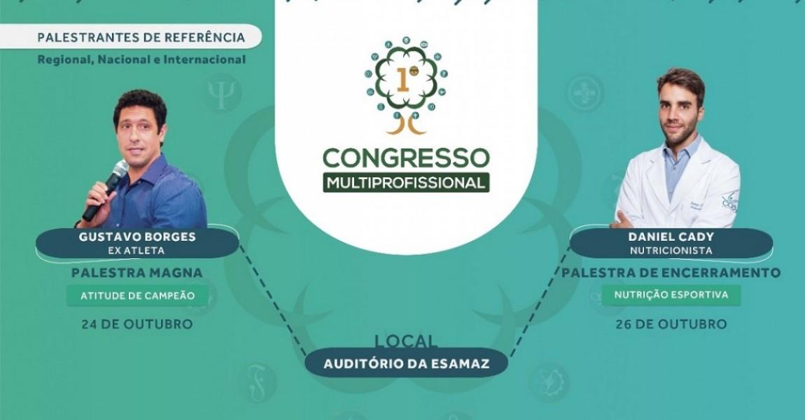 Esamaz abre inscrições para o 1° Congresso Multiprofissional da Saúde
