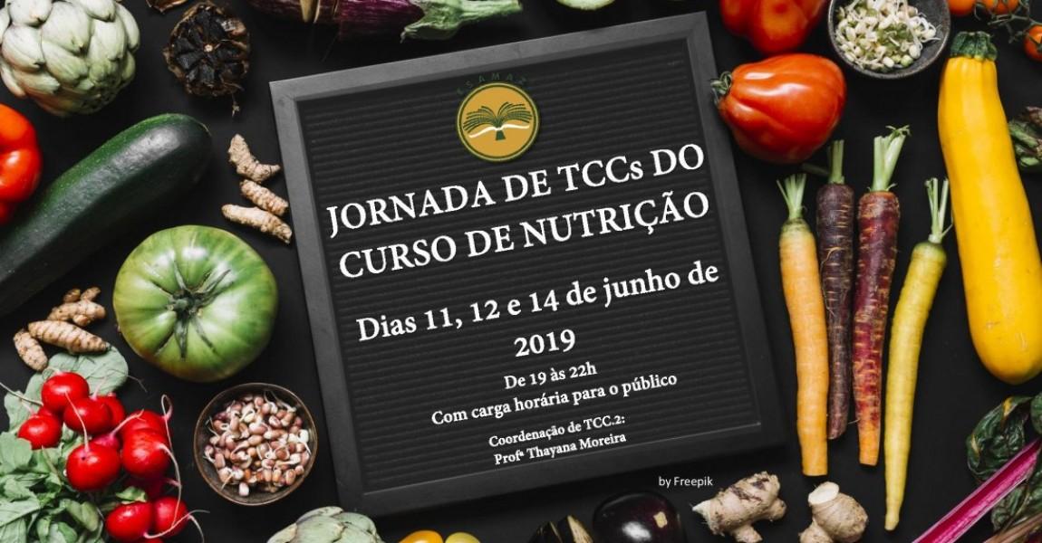 Jornada de TCC´s do Curso de Nutrição acontece entre os dias 11 e 14 de junho na Esamaz