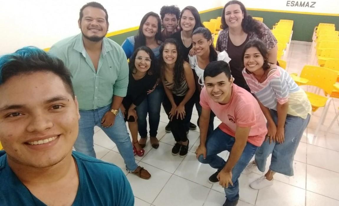Liga Acadêmica de Saúde Mental Interdisciplinar da Esamaz realiza encontro