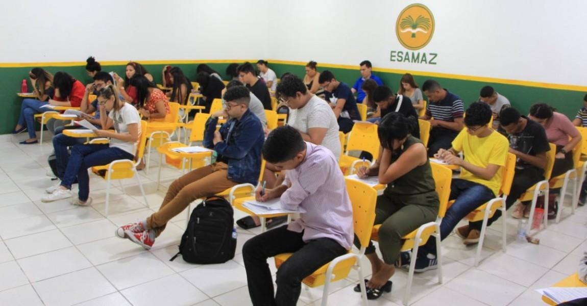 Listão de Esamaz será divulgado na próxima quarta-feira(23). Prova foi realizada neste domingo em Belém
