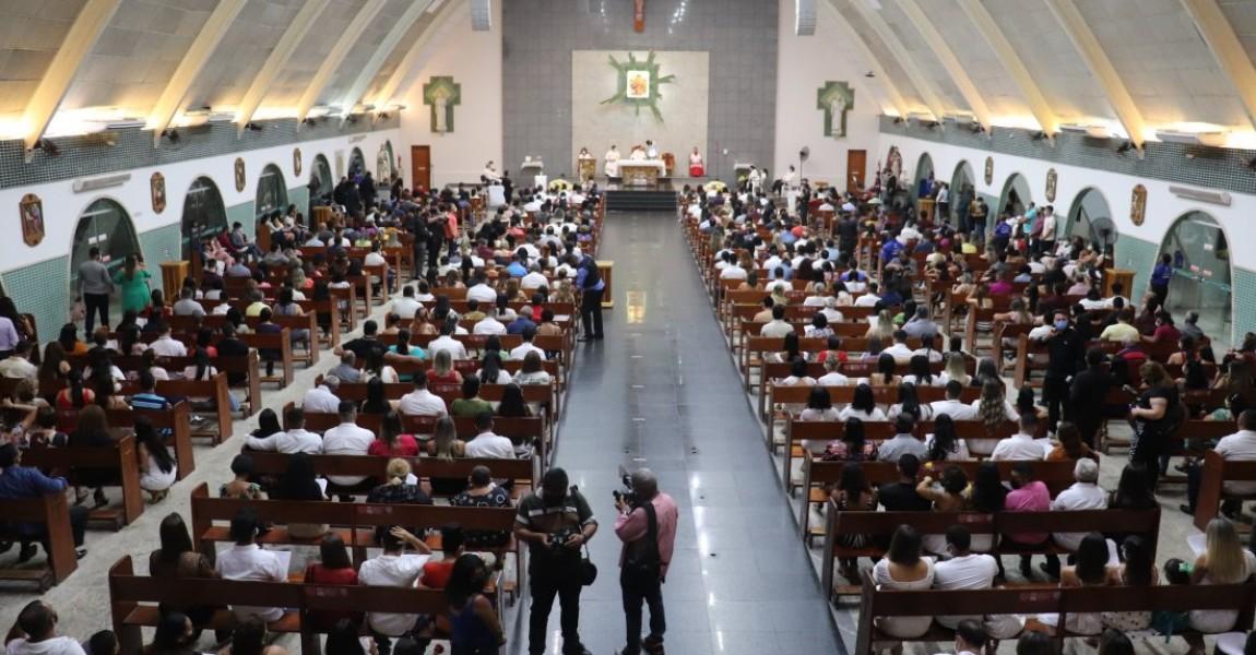 Esamaz realiza Missa em Ação de Graças pela formatura dos concluintes 2021-1 da Instituição