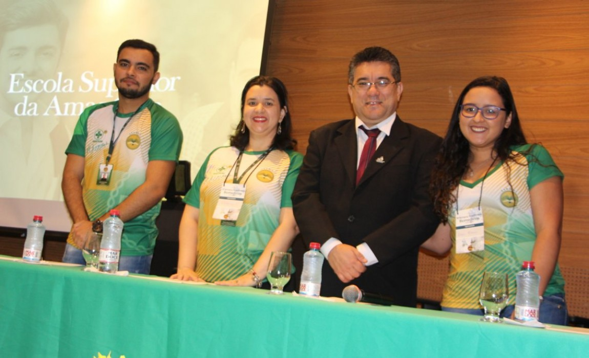 Presidente do Conselho Regional de Biomedicina participa da abertura da Semana Acadêmica na Esamaz