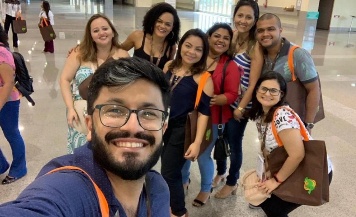 Professores e Alunos do curso de Farmácia da Esamaz participam do XII Congresso Brasileiro de Farmácia Hospitalar