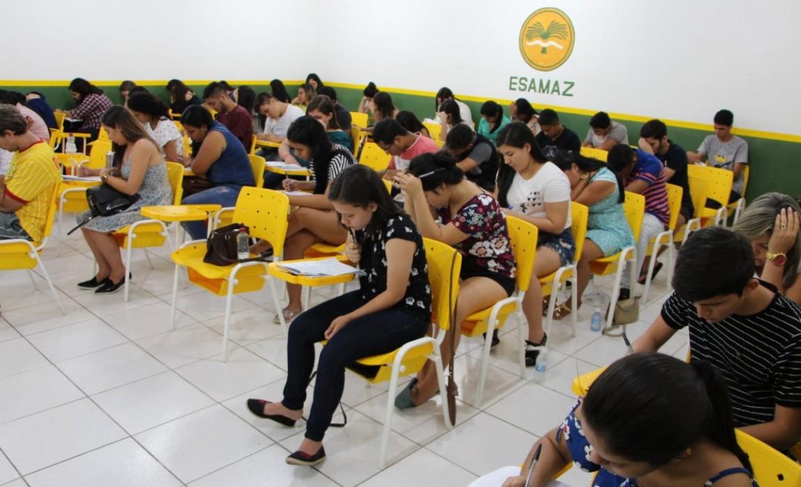 Prova do Vestibular da Esamaz acontece neste domingo (27) em Belém