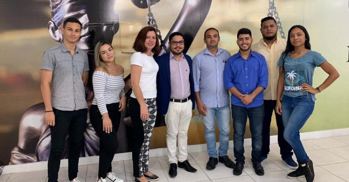 Reunião entre coordenação e líderes de turma definem últimos detalhes da I Semana Acadêmica de Direito da Esamaz