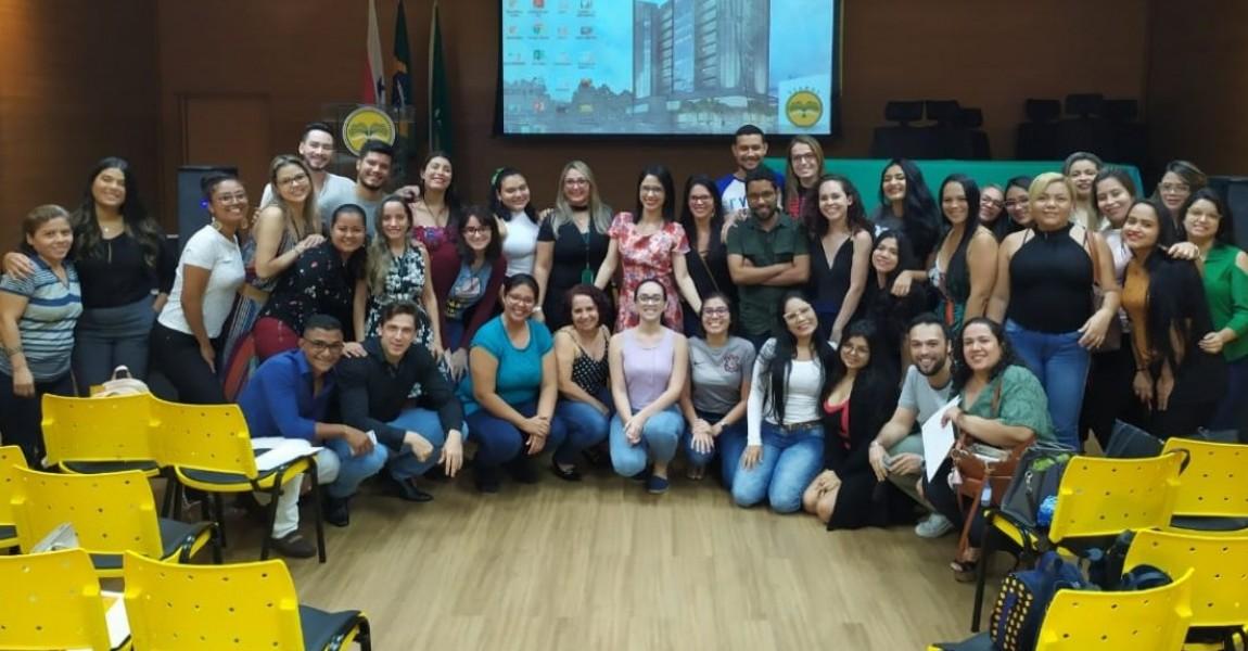 Semana de Acolhimento de Nutrição movimentou o início das aulas do curso, na Esamaz