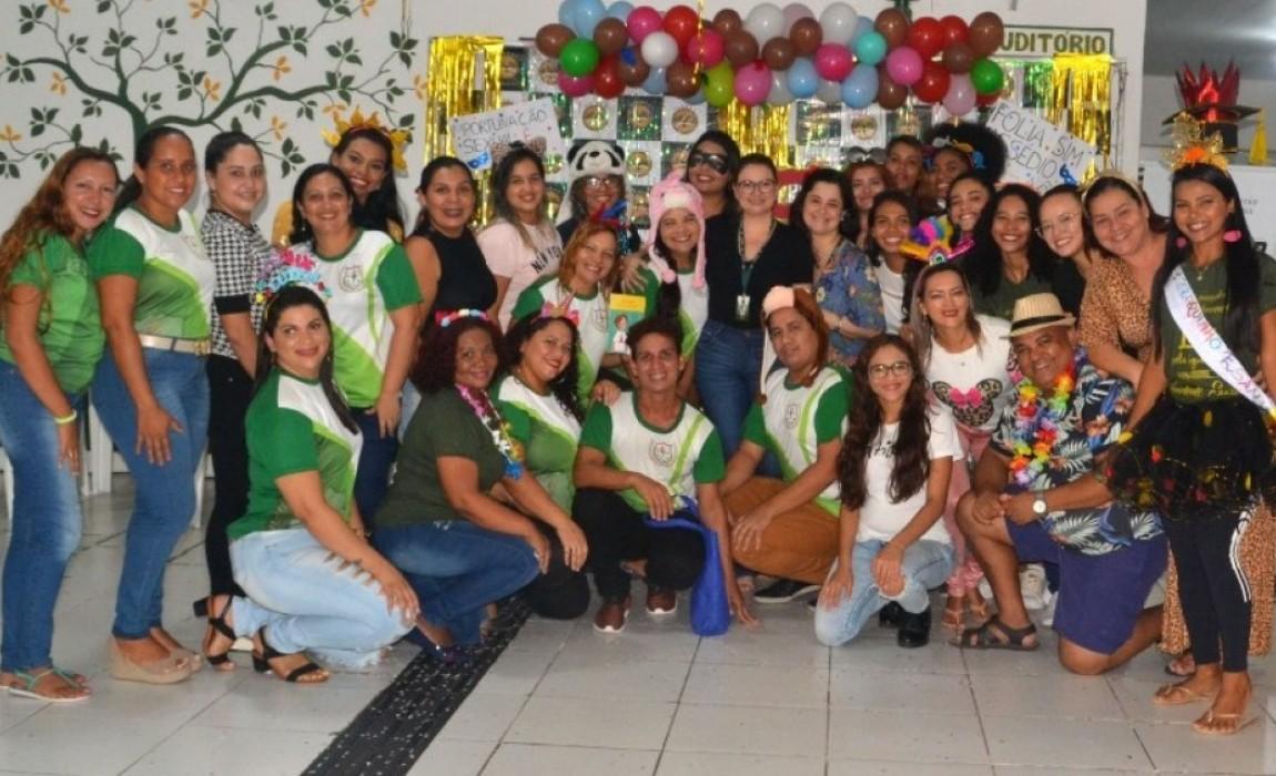 Acadêmicos de Serviço Social da Esamaz promovem ação de conscientização neste Carnaval