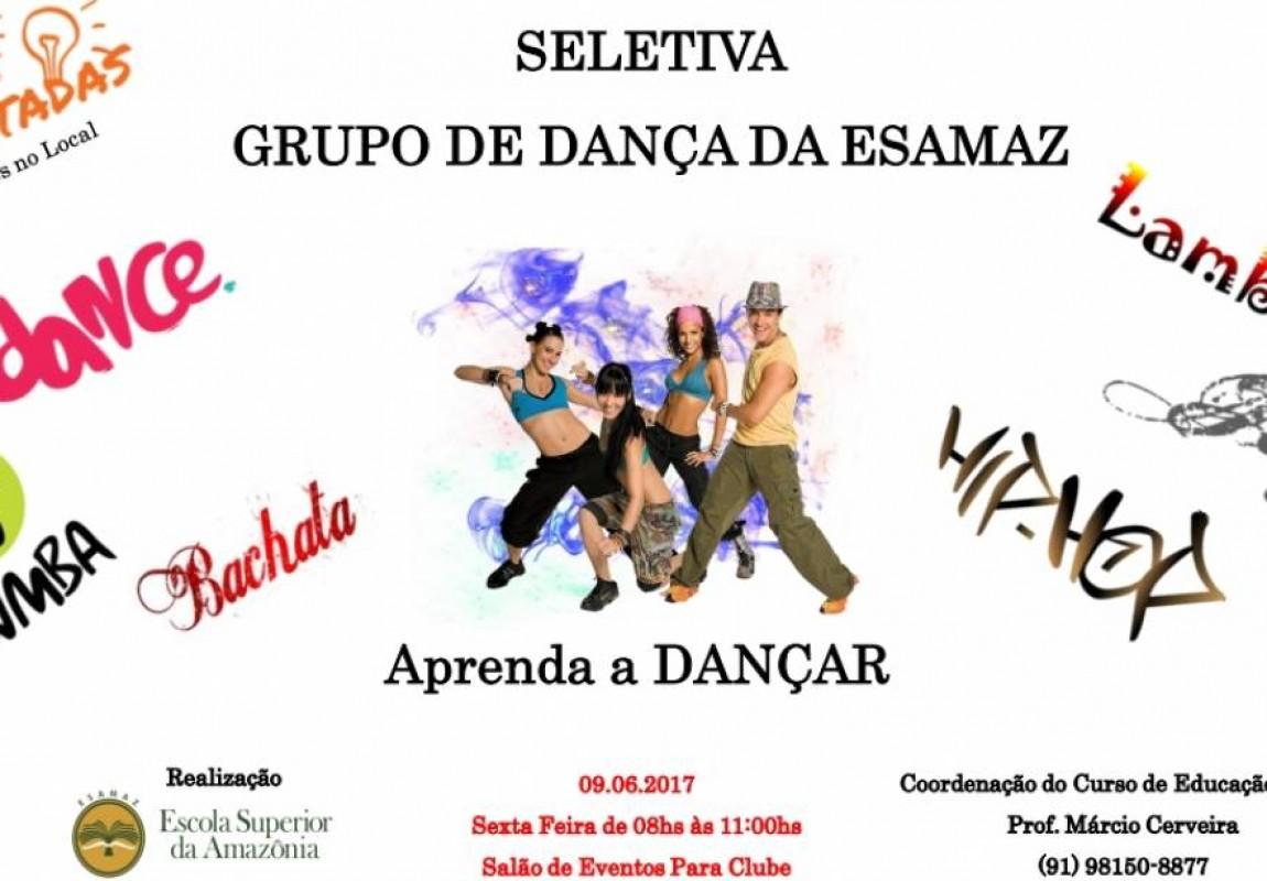 Curso de Educação Física realiza seletiva para Grupo de Dança da Esamaz