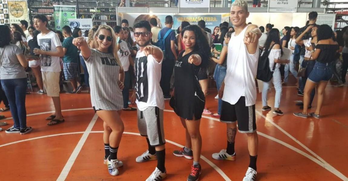 Grupo de Dança da Esamaz é atração em feira vocacional em Belém