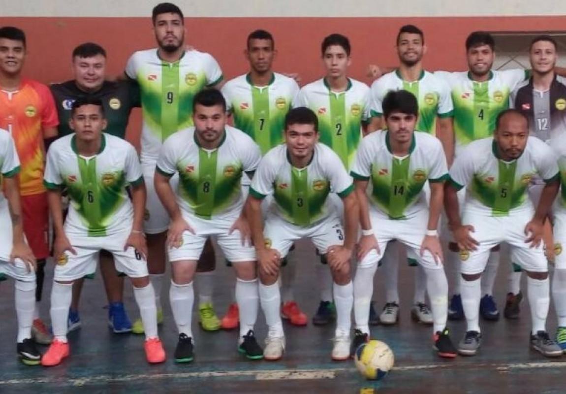 Seleção de Futsal da Esamaz conclui participação no JUPs 2017